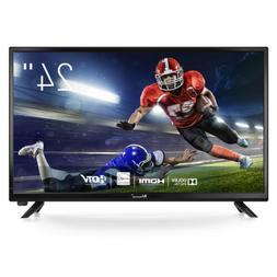 Myonaz LED HD TV 24 inch 1080p Flat Screen TV Widescreen AC