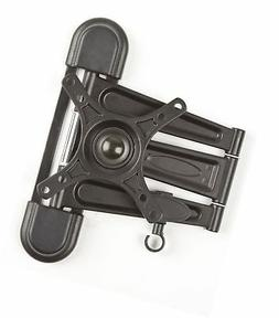 Displays2go MNTW803S TV Wall Mount Bracket, Black Metal Flat
