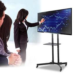go2buy Mobile TV Cart Mount Stand for 32 to 65 Inch LED LCD