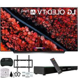 """LG OLED 65 inch C9 4K HDR Smart OLED TV AI ThinQ  & 31"""" Blue"""