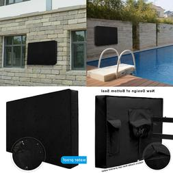 Outdoor Flat Screen TV Waterproof Cover LED LCD Plasma Fit t