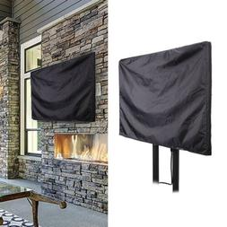 Outdoor TV Cover Fit For Flat Screens - Weatherproof Televis
