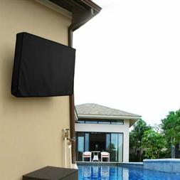 Outdoor TV Cover For Flat Screen Weatherproof Television Cas