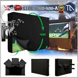 Outdoor TV Cover Weatherproof Waterproof Television Protecto