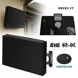 Outdoor Weatherproof Television Protector TV Cover For Flat