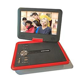 "GJY 9.8"" Portable DVD Players Red"