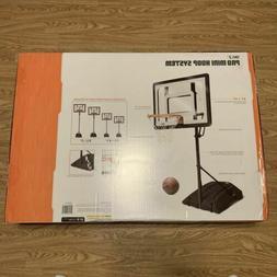 SKLZ Pro Portable Mini Basketball Hoop Backboard System 7' A