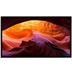Projector Screen Fixed Frame, 100 Inch 4K Ultra HD Indoor Ou