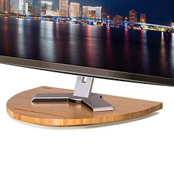 Prosumer's Choice Bamboo TV Swivel Stand for LED/LCD TV Base