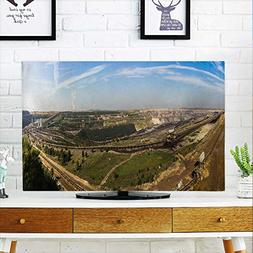 aolankaili Protect Your TV The Big Fields in The Sun Protect
