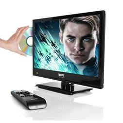 "Pyle PTVDLED16 15.6"" LED TV - HD Flat Screen TV with Built-i"
