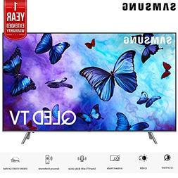 "Samsung QN65Q6FNA 65"" Q6FN Smart 4K Ultra HD QLED TV   with"