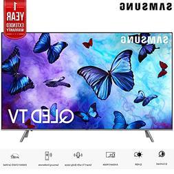 "Samsung QN82Q6FNA 82"" Q6FN Smart 4K Ultra HD QLED TV   with"