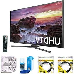 "Samsung Flat 54.6"" LED 4K UHD 6 Series Smart TV 2017 Model"