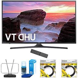 "Samsung 65"" 4K Ultra HD Smart LED TV 2017 Model  with 2x 6ft"
