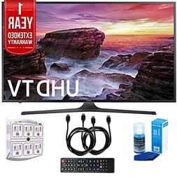 "Samsung UN55MU6290FXZA Flat 54.6"" LED 4K UHD Smart TV  with"