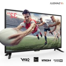"""SANSUI 32"""" 40'' LED TV HD Televisions with Flat Screen TV Sl"""