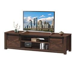 "Sliding Barn Door TV Stand for TV's up to 65"" Flat Screen En"
