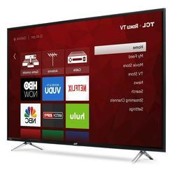 Smart TV TCL 55-Inch 4K UHD Roku Smart LED TV 2018 Model NEW