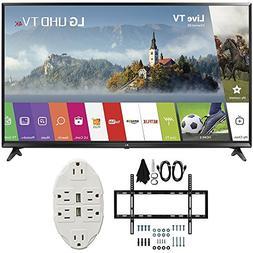 "LG 49"" Super UHD 4K HDR Smart LED TV 2017 Model  with Slim F"