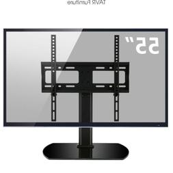 Tabletop TV Stand with Swivel Mount for 27-55 inch LCD LED O