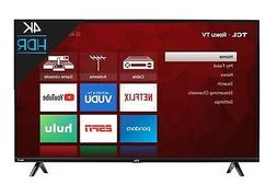 "TCL 55"" Class 4K Ultra HD  HDR Roku Smart LED TV"
