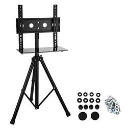 Mophorn Tripod TV Stand 360 Degree Swivel Portable LCD Stand