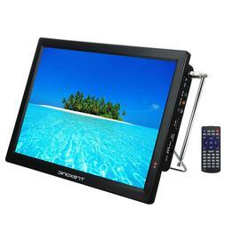 "Trexonic TRX-14D Portable Rechargeable 14"" LED TV HDMI SD MM"