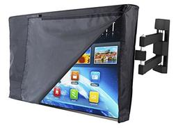 """Outdoor TV Cover 42"""" - NOW WITH OPEN FLAP - The BEST Quality"""
