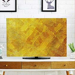 aolankaili TV dust Cover Gold TV dust Cover W20 x H40 INCH/T