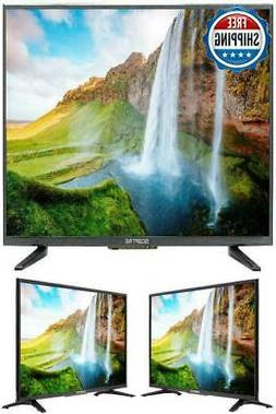 "TV Flat Screen 32"" Inch LED HDTV Wall Mountable USB Hdmi Cla"