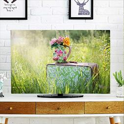 tv protective cover flower grass