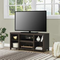 Tv Stand For 50 Inch Tv Media Center Storage Shelves Wood Fl