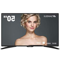 """SANSUI TV LED Televisions 50"""" 4k TV with Flat Screen TV, HDM"""
