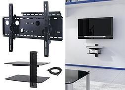 2xhome TV wall mount bracket LEd LCD Plasma Tilt Up Down Adj