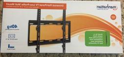 "Flat Screen Monitor/TV  Wall mount Low Profile  32"" - 55"""