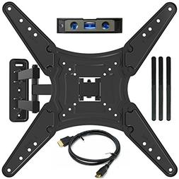 "Everstone TV Wall Mount Full Motion Bracket for 23-55""TVs up"
