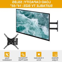TV Wall Mount Swivel Articulating Arms LED LCD Flat Screen 1