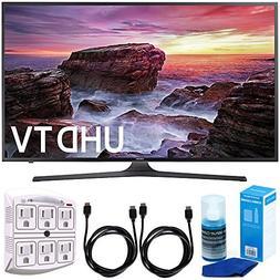 """Samsung UN40MU6290 6-Series Flat 39.9"""" LED 4K UHD Smart TV w"""