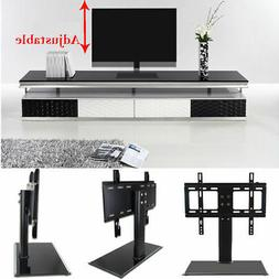 Universal LED LCD Flat Screen TV Table Bracket With Stand/Ba