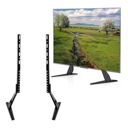 Universal LCD Flat Screen TV Table Top Mount Stand Base fits