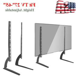 "Universal LCD LED HD Table Top TV Stand Base for 37"" - 65"" F"