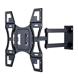TV Wall Mount Bracket with Full Motion Articulating Arm for