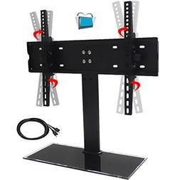 PexFix Universal Table Top Tilting TV Stand for Flat Screens