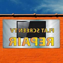 Vinyl Banner Sign Flat Screen Tv Repair Business Marketing A