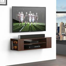 Wall Mount Xbox one Wood Shelf TV Entertainment Center Stand