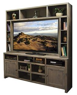 Liquid Pack Solutions In Weathered Gray Color TV Stand With
