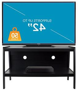 Mount-It! Wood TV Stand and Storage Console For 32, 35, 37,