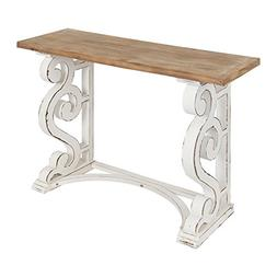 Kate and Laurel Wyldwood Country French Solid Wood Console T